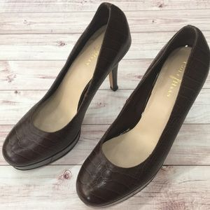 Like new Cole Haan/Maria Sharapova platform heels